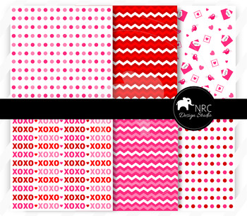 Valentine Love Letters Paper Pack