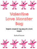 Valentine Love Monster Bags