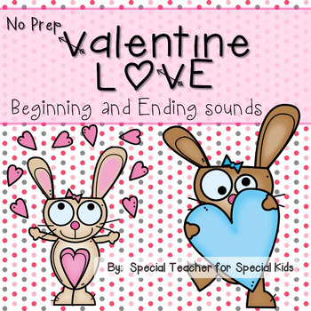 Valentine Love- No Prep Phonics