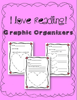 Valentine - Love Reading - Graphic Organizer