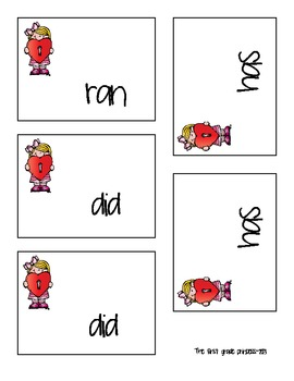 Valentine Love Sight Word Games