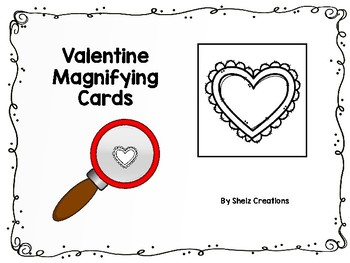 Valentine Magnifying Glass Cards