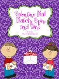 Valentine Mail Match, Spin and Win!