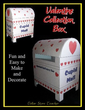 Valentine Mailbox Easy to Make and Fun to Decorate - Valentine's Day Cards