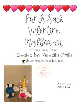 Valentine Mailbox Kit