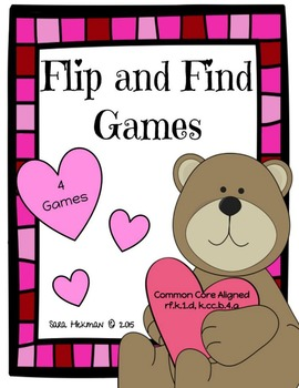 Valentine's Day: Flip and Find Games