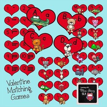 Valentine Matching Games