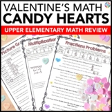 Valentine's Day Activities: Valentine's Day Math {Conversation Heart Math}