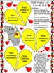Valentine's Day Math Activities: Valentine's Day Math Vocabulary Match-Up
