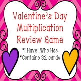 3rd Grade Valentines Day Math I Have Who Has Valentine Day Multiplication Game