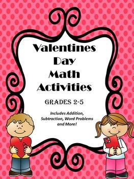 Valentine Math Activities
