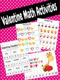 Valentine Math Activities - 23 activities