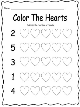 Valentine Math Activities - 23 activities