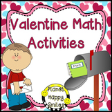 Valentine Math Activities ~ Whole Group and Stations/Centers