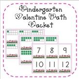 Valentine Math Activities for Kindergarten