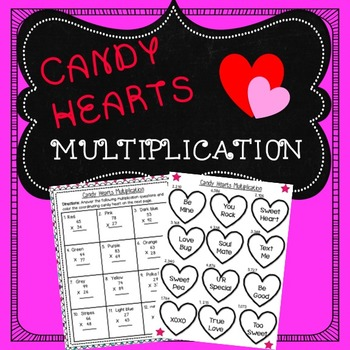Valentine Math Activity
