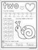Valentine Math Activity Pages for Numbers 1 - 10 (Preschool - 1st Grade)