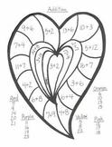 Kinder Valentine Math Art