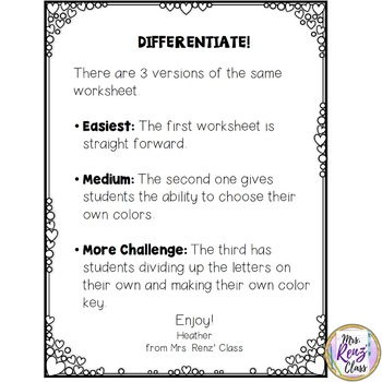 LOVE Math - Multiples and Common Multiples Math Coloring FREE