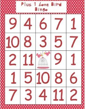 Valentine Math Bingo Pack