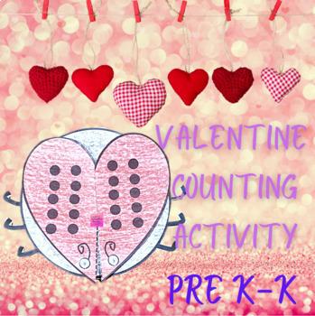Valentine Math Center Activity