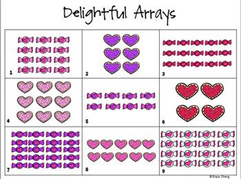 Valentine Math Centers {Common Core Aligned}