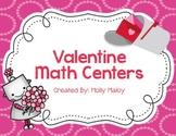 Valentine Math Centers (Grades 3-5)