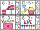 Valentine Math Centers and Printables - Subtracting and Adding Numbers 1-20