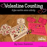 Valentine Math Counting - A Fun Number Sense Activity