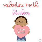 Valentine Math Freebies