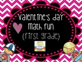 Valentine Math Fun {First Grade}