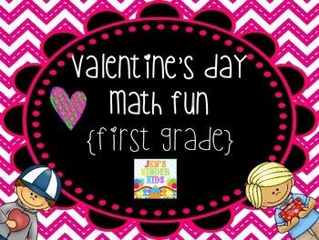 Valentine Math Fun {First Grade}