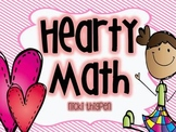 Hearty Math--Math Activities for February