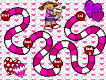Valentine Math Game Freebie!