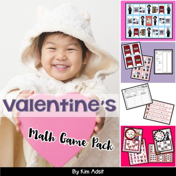 Valentines Day Math Game Pack