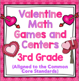 3rd Grade Valentine's Day Math - 3rd Grade Math Games and Centers