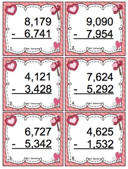 3rd Grade Valentine's Day Math Games and Activities