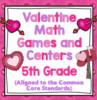 Valentine's Day Math - 5th Grade