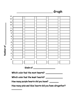 Valentine Math Graphing Pack
