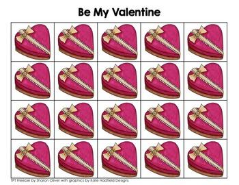 Valentine's Day Math Grid Games