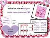 Valentine Math Kindergarten  February Fun