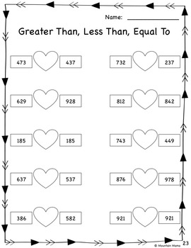 2nd grade valentine math literacy activities. Black Bedroom Furniture Sets. Home Design Ideas