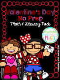 Valentine Math & Literacy Pack