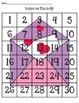 Valentine Math Match Up - Number Charts
