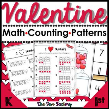 Valentine Math PK and K