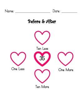 Valentine Math Pack