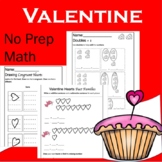 Valentine Math Packet