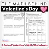 Valentine Math Ratio Proportion Percent Worksheets