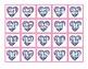 Pocket Chart Number Cards 1-100- Valentine Math