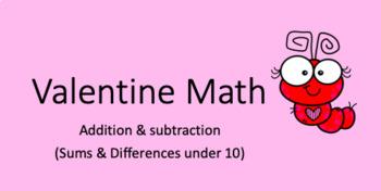 Valentine Math Power Point ~Addition & Subtraction